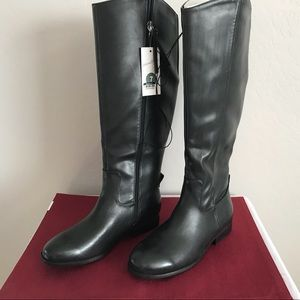 🔥 🔥🔥 NWT Vegan Leather Riding Boots